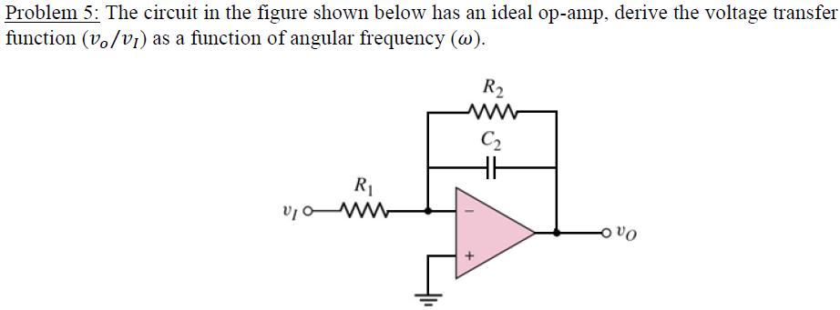 The circuit in the figure shown below has an ideal