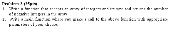 Write a function that accepts an array of integers