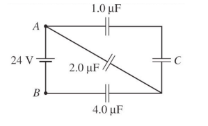 1. (a) What is the equivalent capacitance between