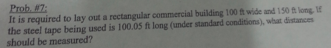 It is required to lay out a rectangular commercial
