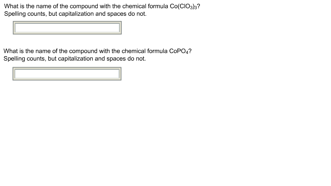 What is the name of the compound with the chemical