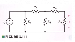 Use current and voltage division to help obtain an