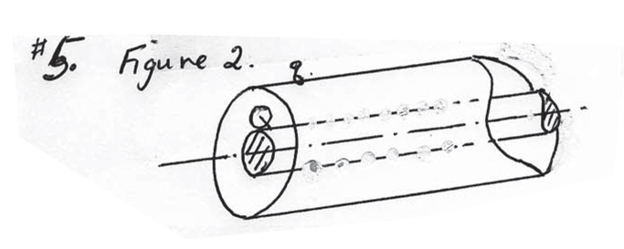 Figure 2 represent a charged (Q = -19.8 micro-coul