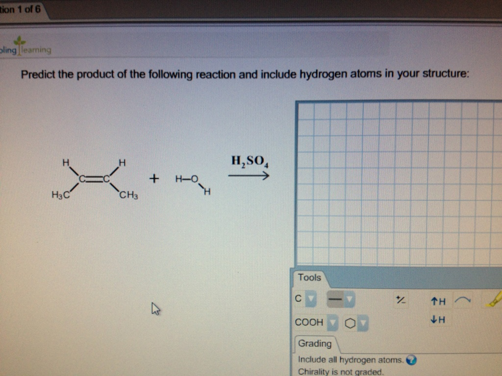 Predict the product of the following reaction and