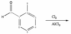 Draw the monochlorinated major organic product (wh