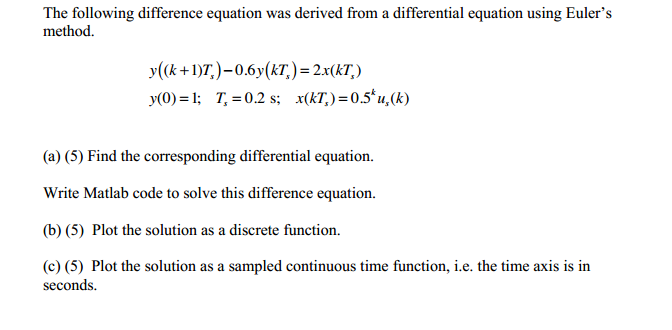 how to solve an equationa as function matlab
