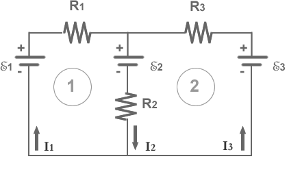 For the circuit shown in Fig. 26-8, which equation