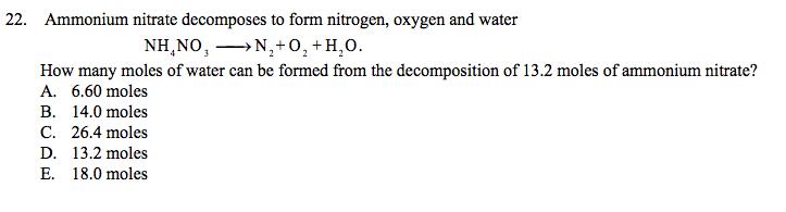 how to make ammonium nitrate from ammonia