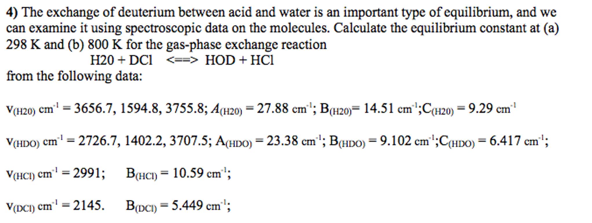 Physical Chemistry Quantum Mechanics The Exchange