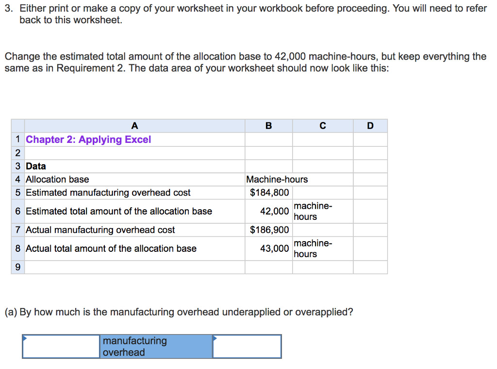 Solved: 3. Either Print Or Make A Copy Of Your Worksheet I ...
