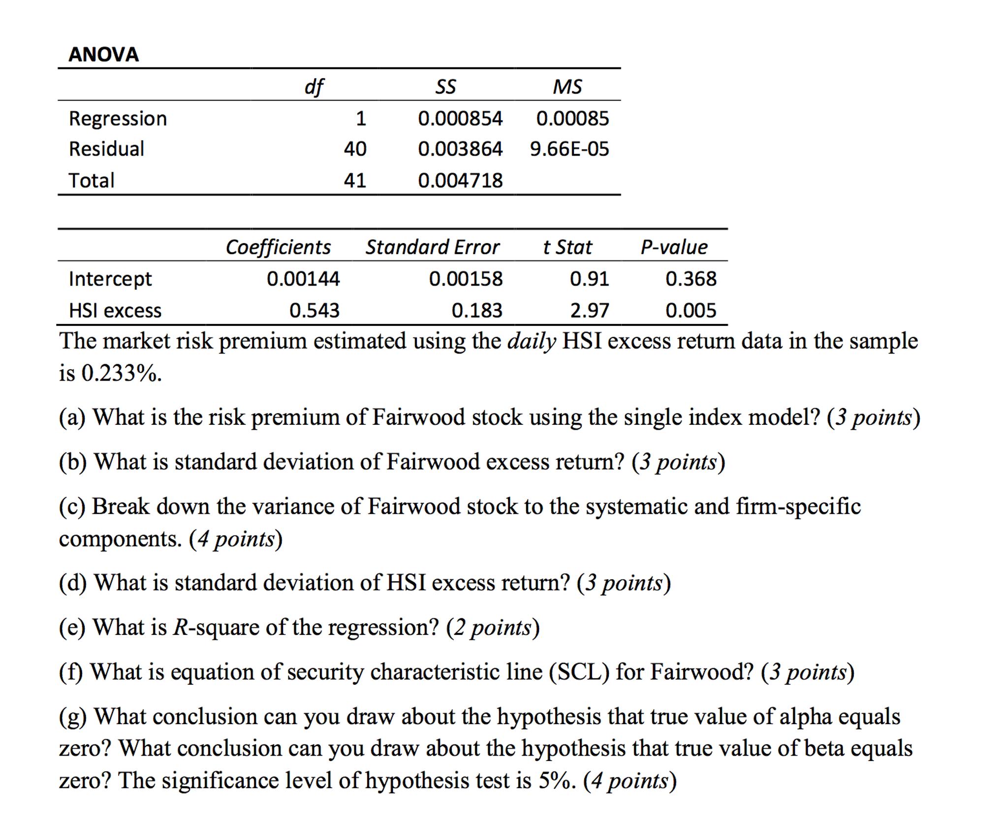 Model single investopedia index Sharpe's single
