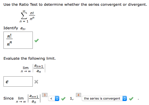 N'nn 2018 N' N'n >> Solved Use The Ratio Test To Determine Whether The Series