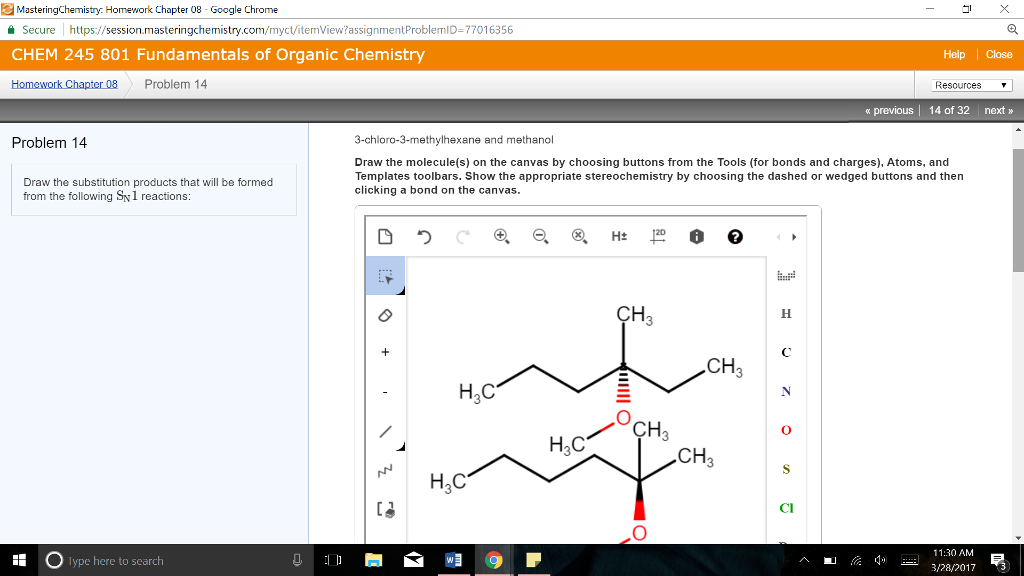 Chemistry archive march 28 2017 chegg try homework chapter 08 gle chrome mastering chemi secure https ession masteringchemistry fandeluxe Images