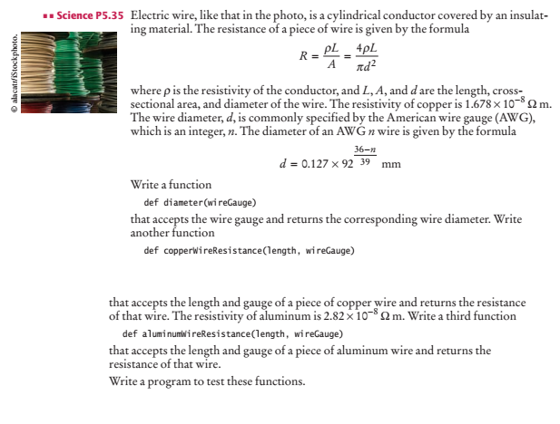 Solved science p535 electric wire like that in the phot question science p535 electric wire like that in the photo is a cylindrical conductor covered by an ins keyboard keysfo