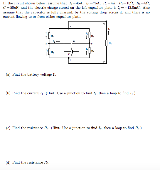 Solved In The Circuit Shown Below Assume That I 4 45a I