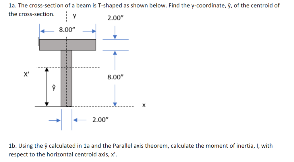 Moment of inertia t beam calculator