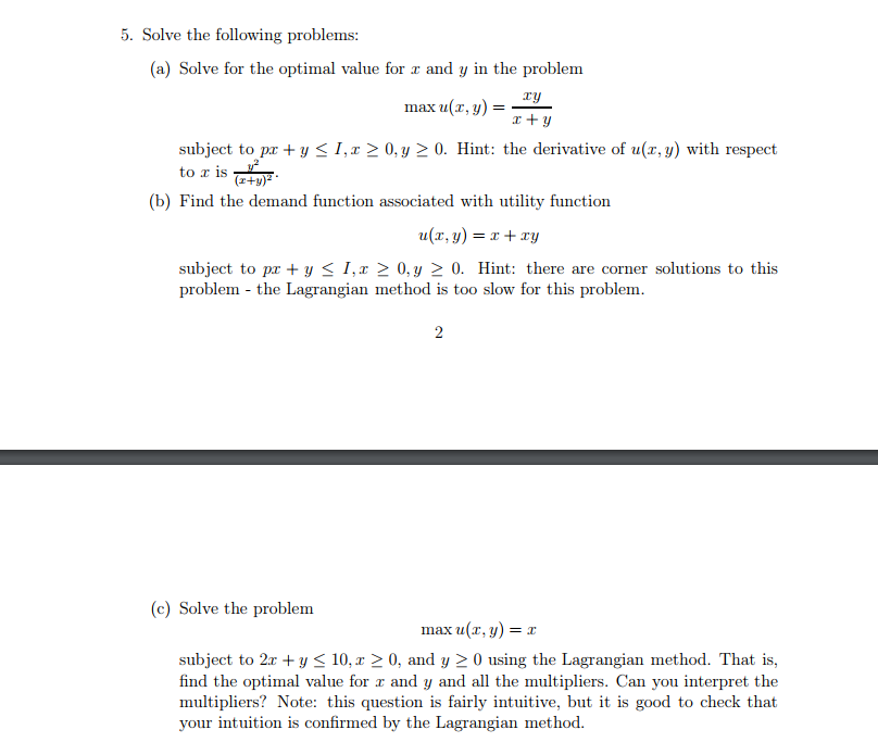 solve for y problems