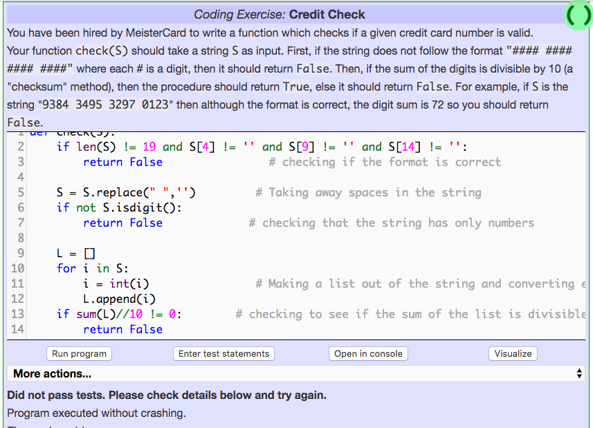 Solved: This Coding Is For Python Im Having A Hard Time Co