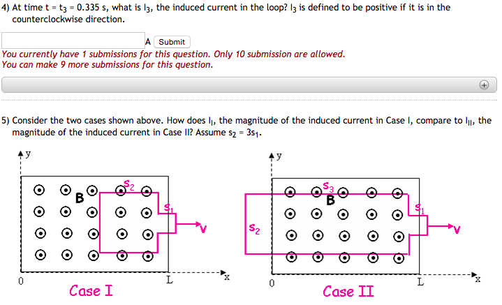 Solved A Conducting Loop Is Made In The Form Of Two Squar