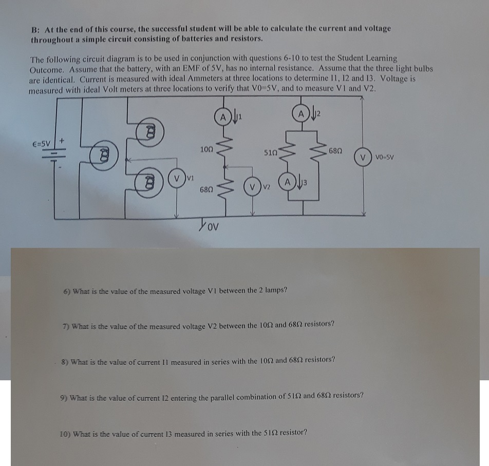 Solved B At The End Of This Course Successful Stude Simple Schematic Diagram Student Will Be Able To
