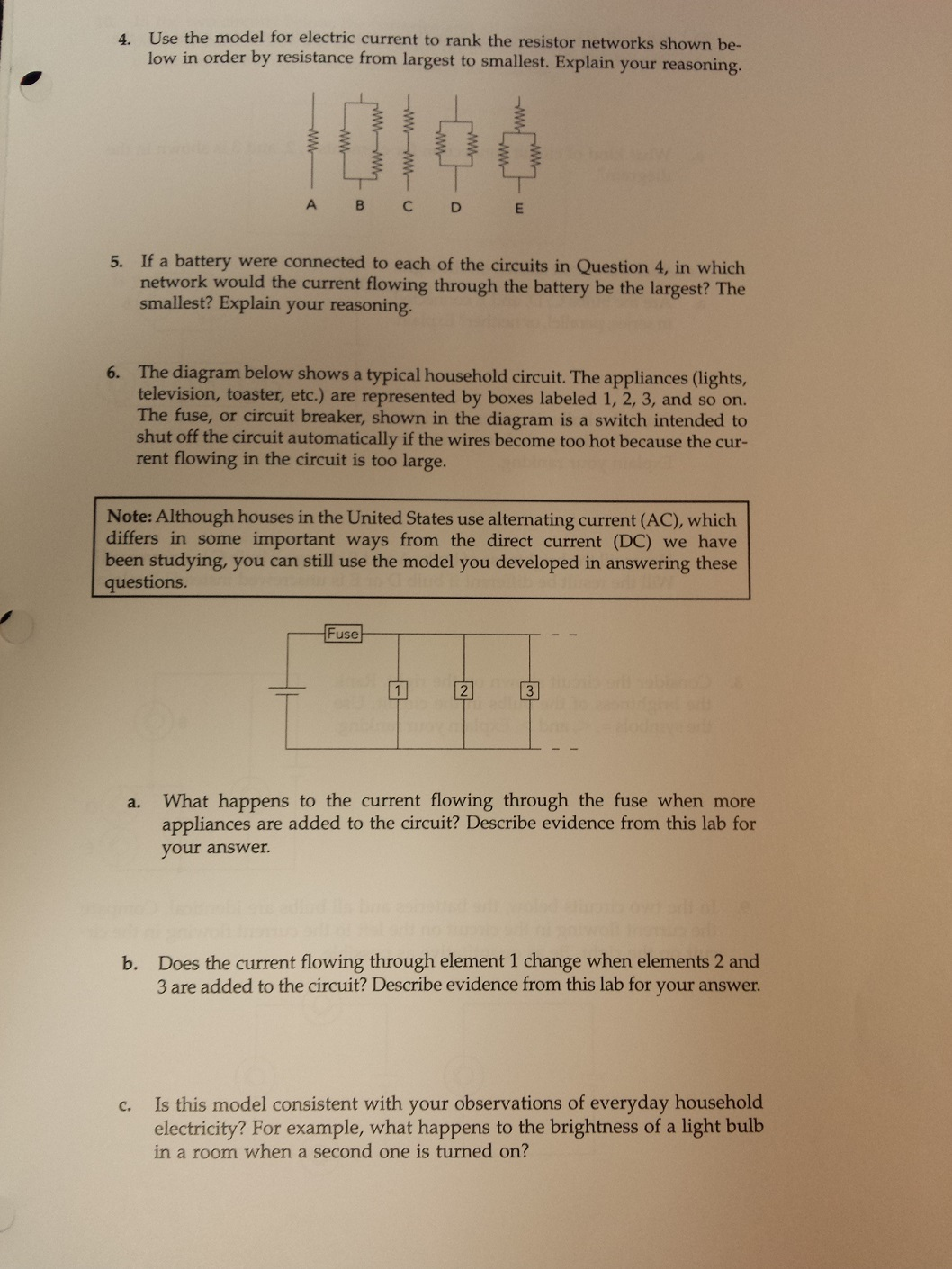 Solved I Dont Understand The Concepts Behind Currents In Circuit Breaker Is A Switch Designed To Automatically Shut Off Use Model For Electric Current Rank Res