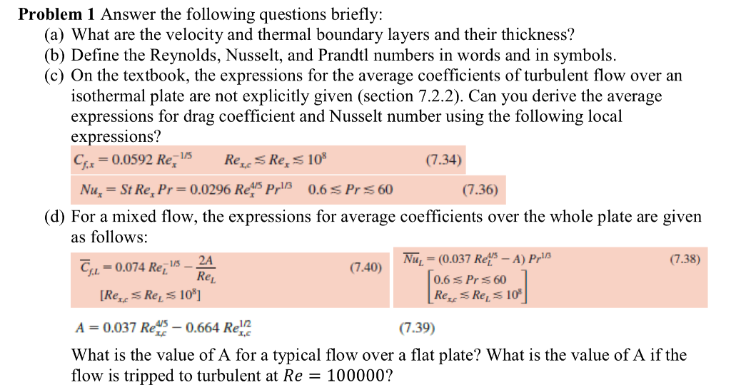 Solved Problem 1 Answer The Following Questions Briefly
