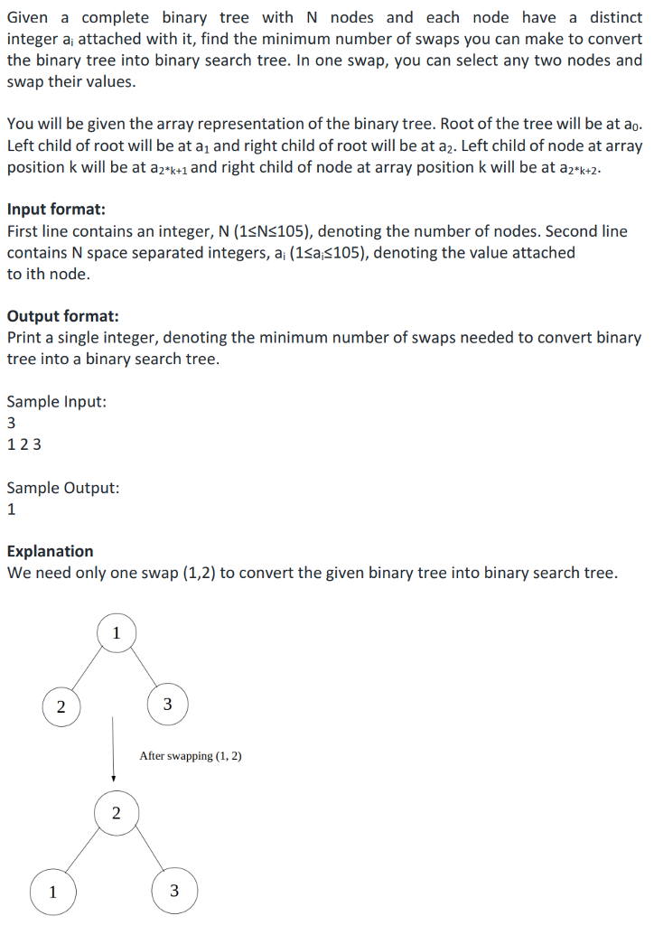 Solved: In Java Only Please: Given A Complete Binary Tree