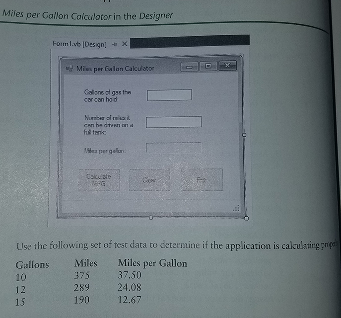 solved  create an application in visual basic that calcula