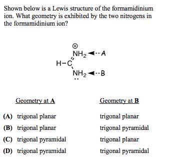 Formamidinium ion