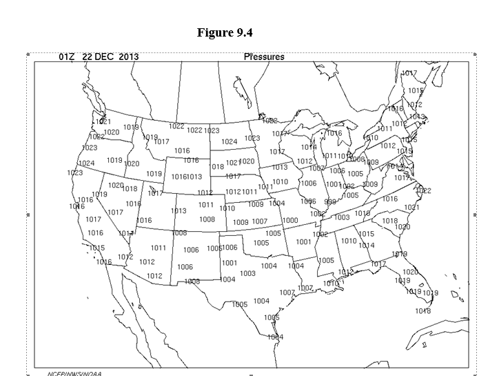Us Map Line Drawing.Solved 2 Weather Front Analysis A In The U S Map Of S