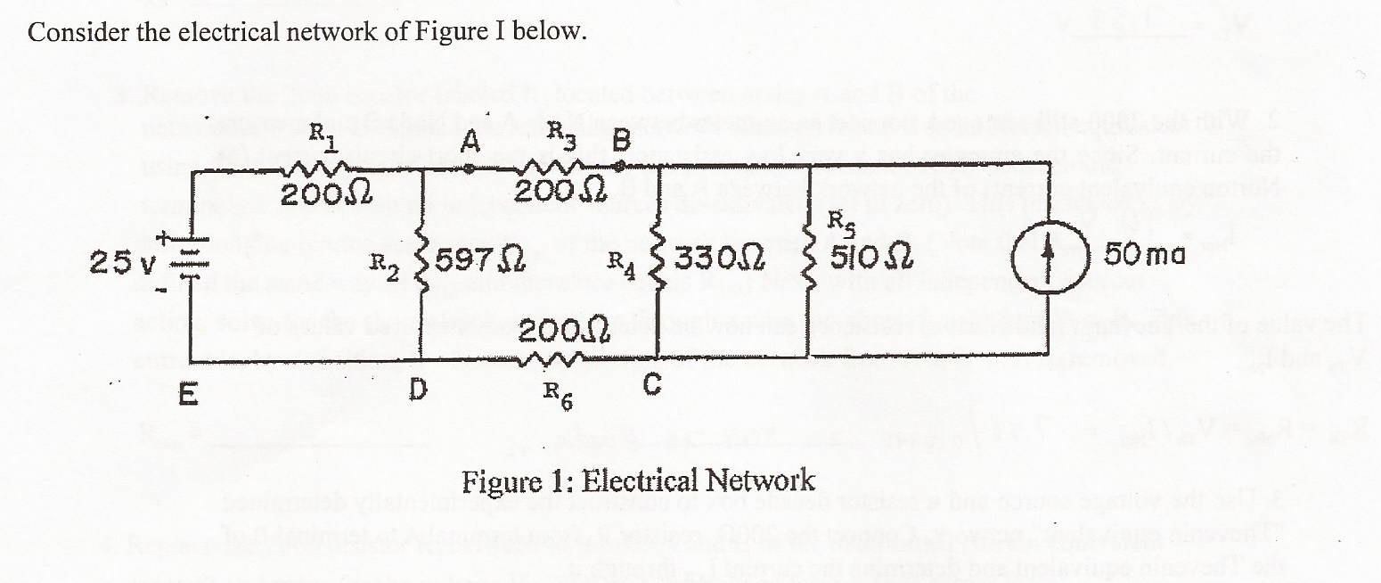 Solved 3 Remove The 2000 Resistor Labeled R3 Located Bet How To Reduce Voltage With Resistors Between Nodes A And B