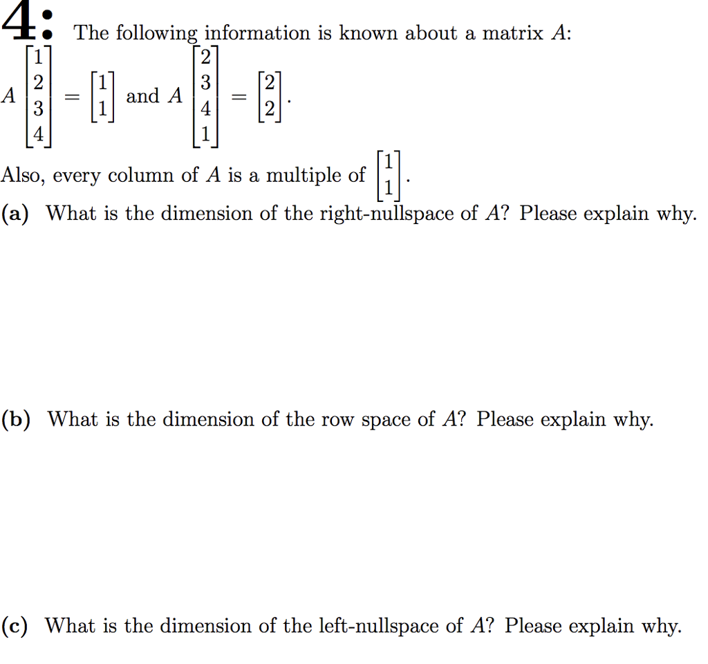 What is a matrix