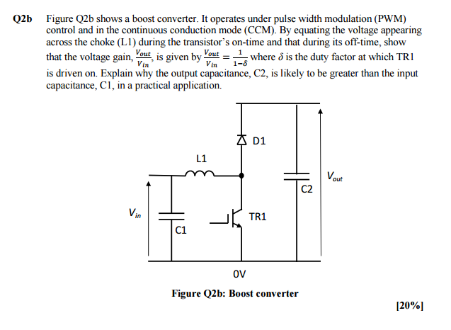 electrical engineering archive 15 2017 chegg com q2 q2a the full bridge circuit in figure q2a operates under pulse width modulation pwm control tri and tr4 are switched on simultaneously at a duty