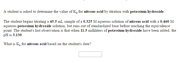 standardization of potassium hydroxide
