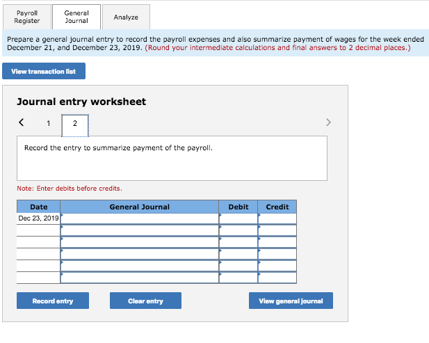 Solved: Problem 10 3A Computing Gross Earnings, Determinin
