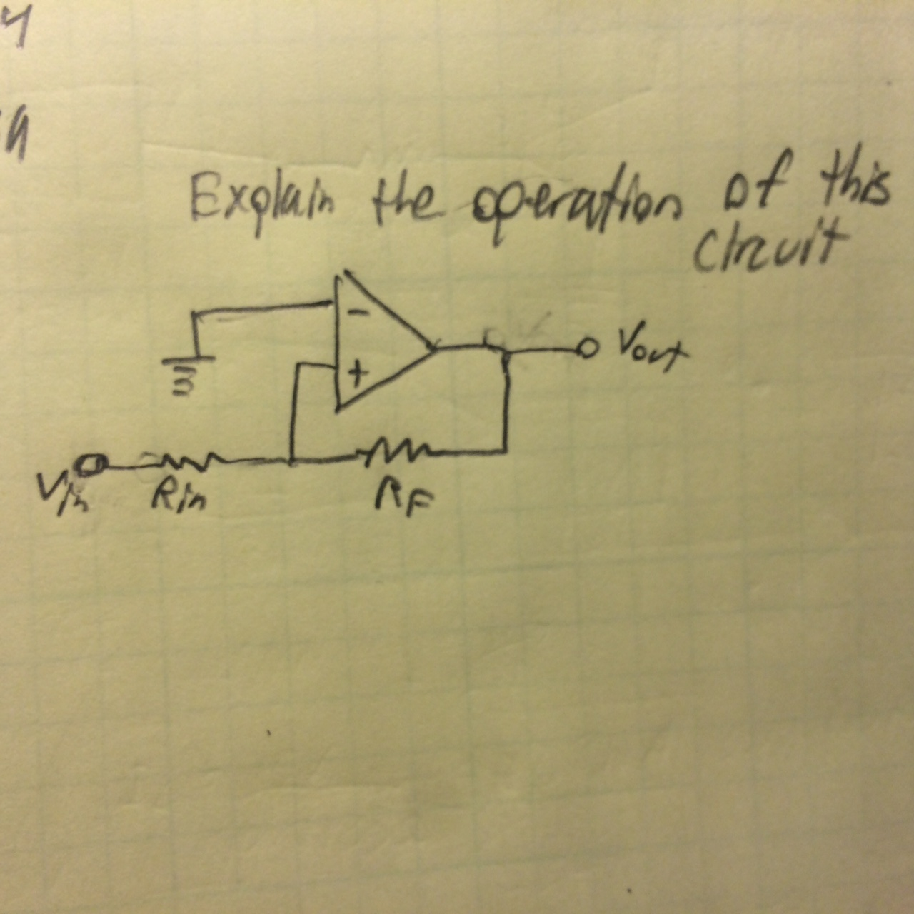 Explain the operation of this circuit
