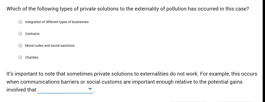 Economics archive april 15 2016 chegg private solutions to correct for externalities consider the following scenario suppose that a chicken farm uses a nearby stream to dispose of the wastes fandeluxe Images