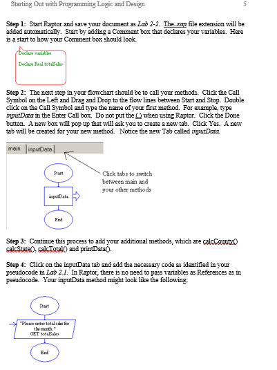 Solved Lab 22 Flowcharts Critical Review The Flowchart