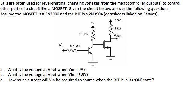 Strange Solved Bjts Are Often Used For Level Shifting Changing V Wiring Cloud Hisonuggs Outletorg