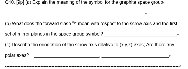 Explain The Meaning Of The Symbol For The Graphite Chegg