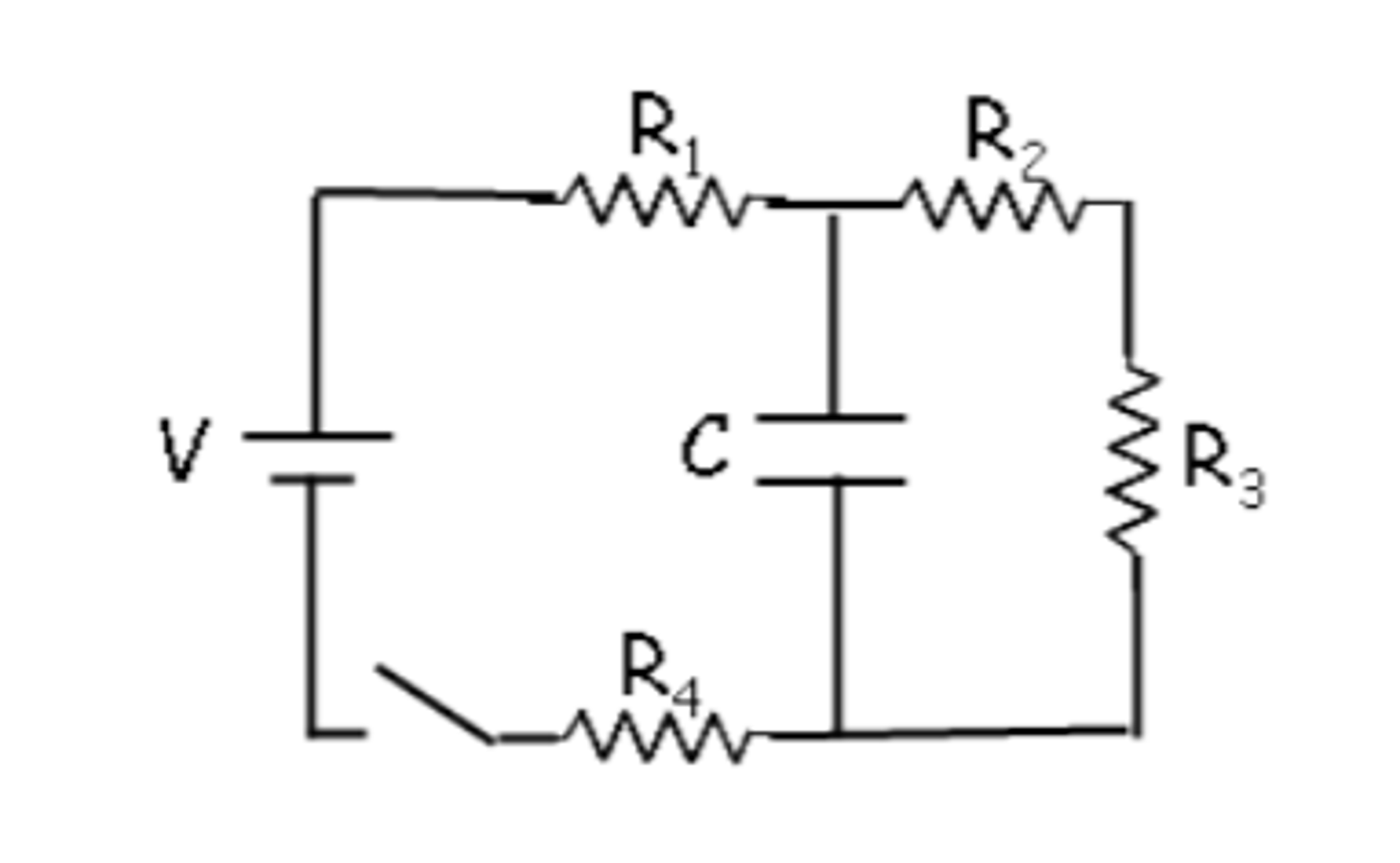 solved  a circuit is constructed with four resistors  one