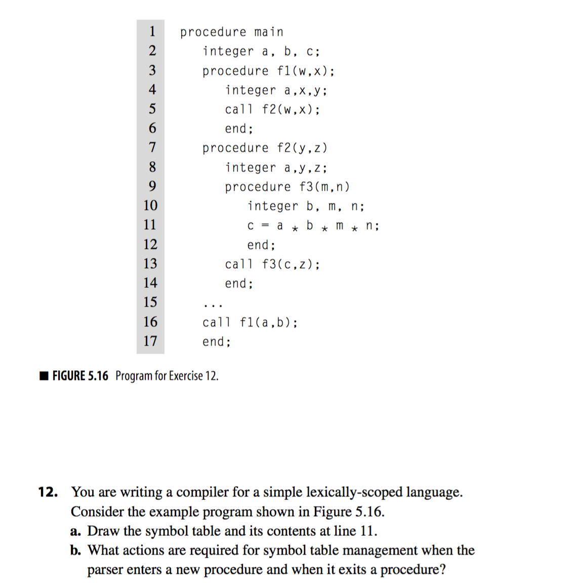You Are Writing A Compiler For A Simple Lexically Chegg