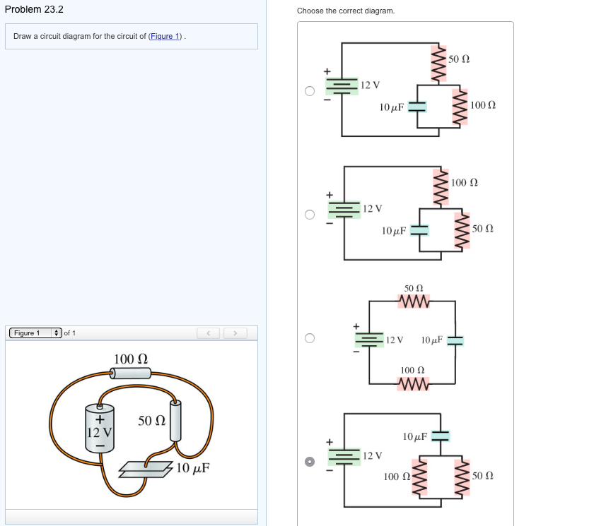 Solved: Draw A Circuit Diagram For The Circuit Of (Figure 1 ...