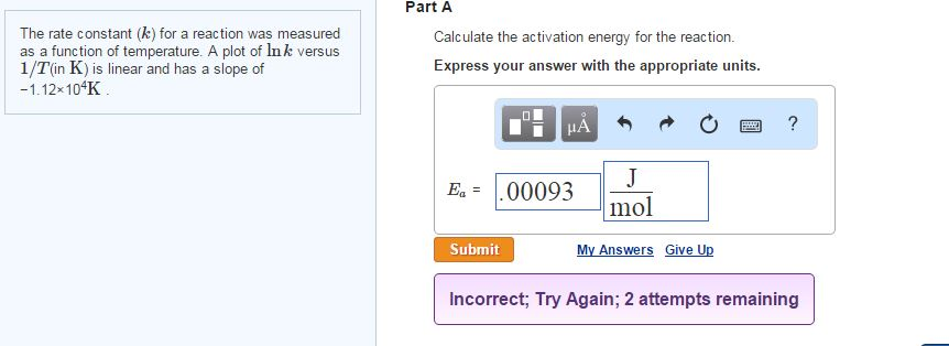 how to find rate constant k