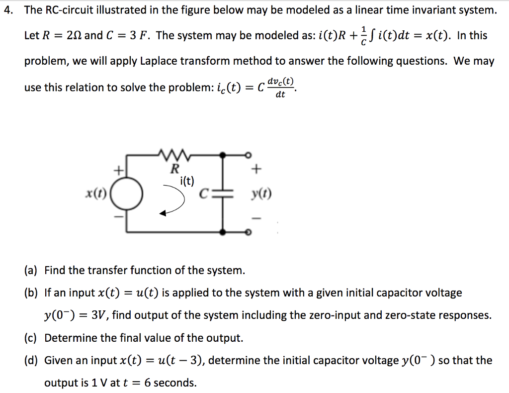 Rc Circuit D Not Lossing Wiring Diagram Capacitors And Resistors A Circuitbreadboard Wires Batteries Solved The Illustrated In Figure Below May Rh Chegg Com Differential Equation Delay Calculator Resistor Capacitor