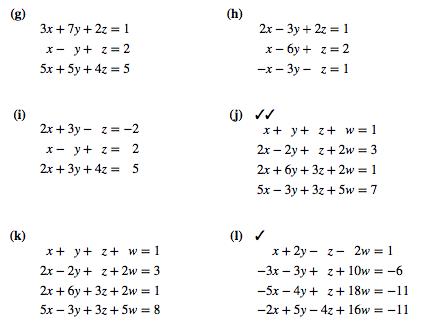 Solved 3x7y21 X Y Z 2 5x 5y 4z 5 X 3y Z1 2x