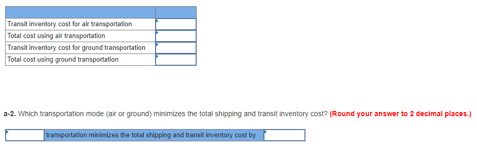 Solved: The Table Below Provides Shipping Rates For Packag
