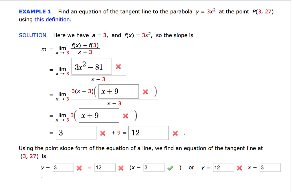 Solved Find An Equation Of The Tangent Line To The Parabo