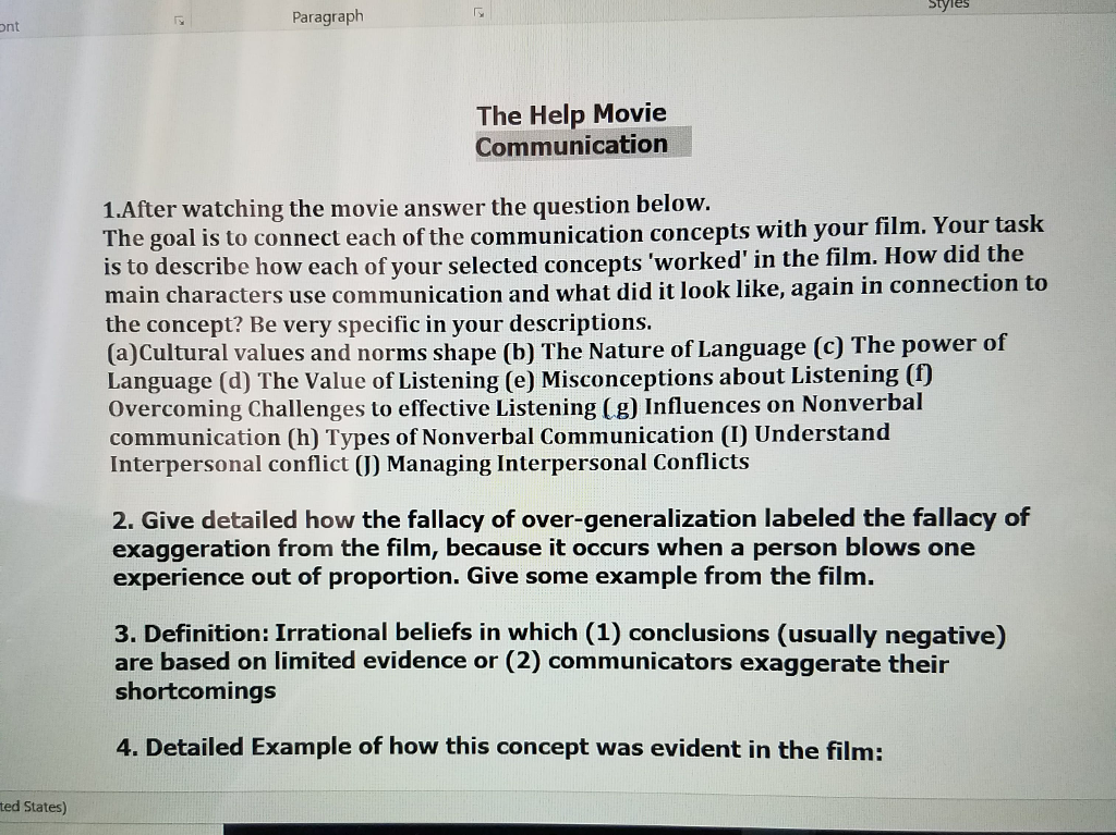 communication conclusion paragraph