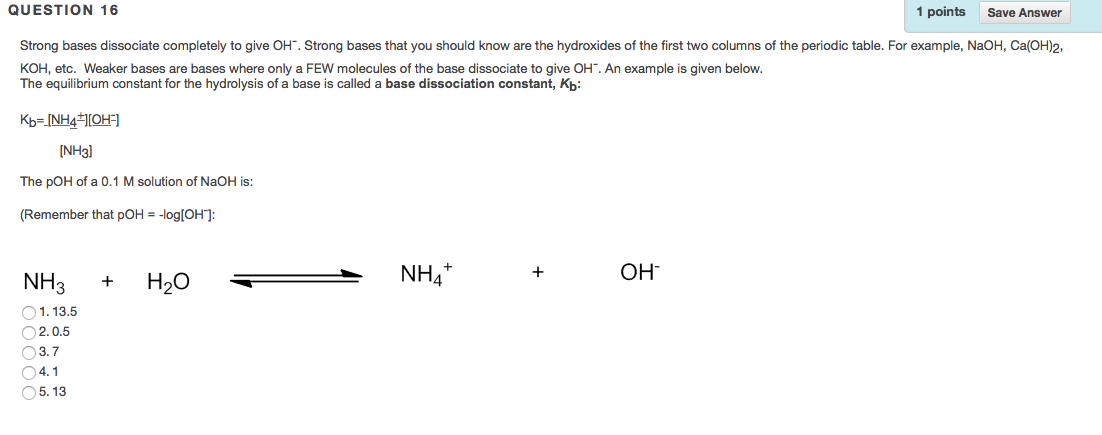 Solved when salts such as nacl are added to water they d show transcribed image text when salts such as nacl are added to water they dissolve and dissociate into ions nacl dissolves to na and cl urtaz Gallery